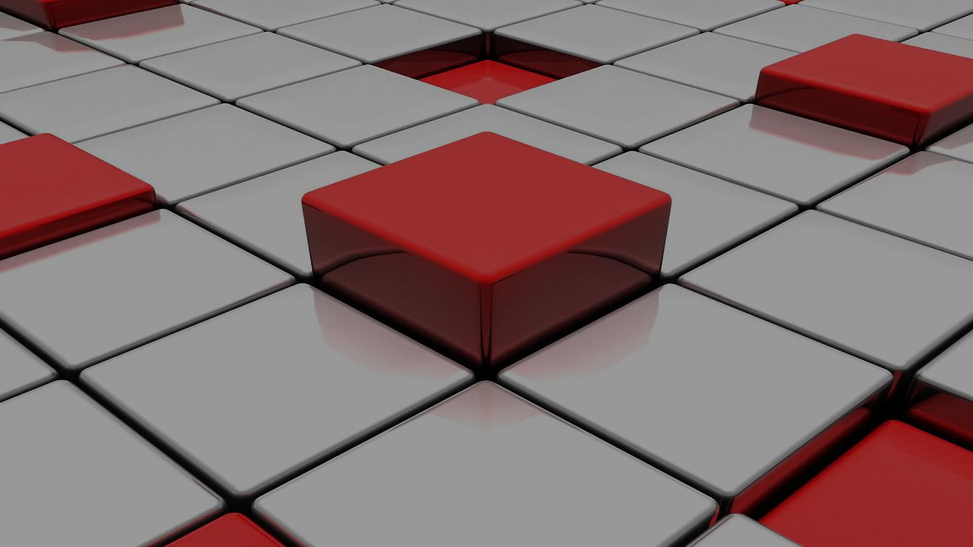 hd-pics-photos-3d-cubes-white-red-technology-digital-hd ...