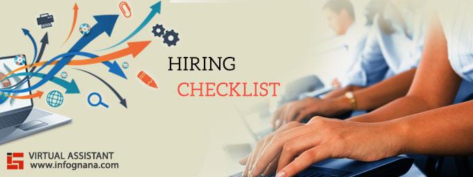 VA Hiring Checklist