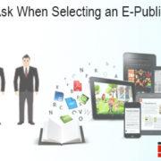 e-publishing service provider