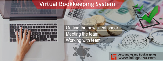 Virtual Bookkeeping system