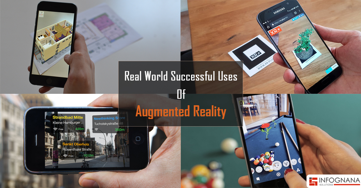 Augmented Reality - It's Real World Successful Uses