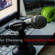 professional transcription service provider