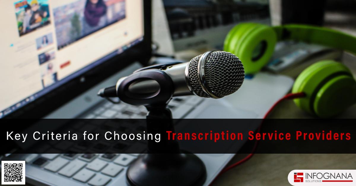 professional transcription service provider