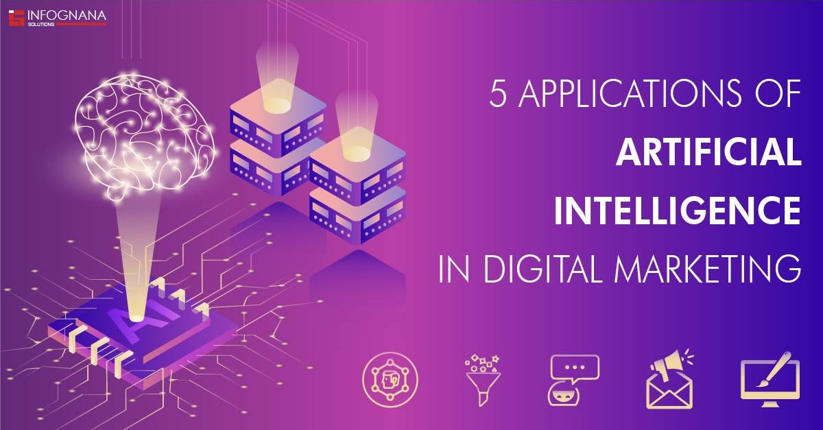 5 Applications of Artificial Intelligence in Digital Marketing