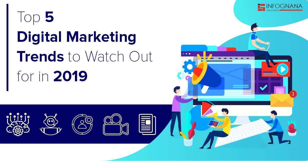 Digital Marketing trends 2019