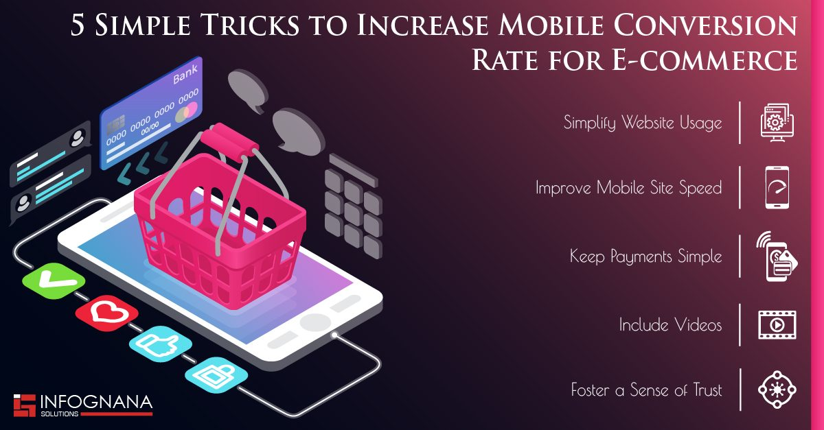 5 Simple Tricks to Increase Mobile Conversion Rate for E-commerce