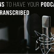 Transcribe Audio to Text | Audio Transcription Services
