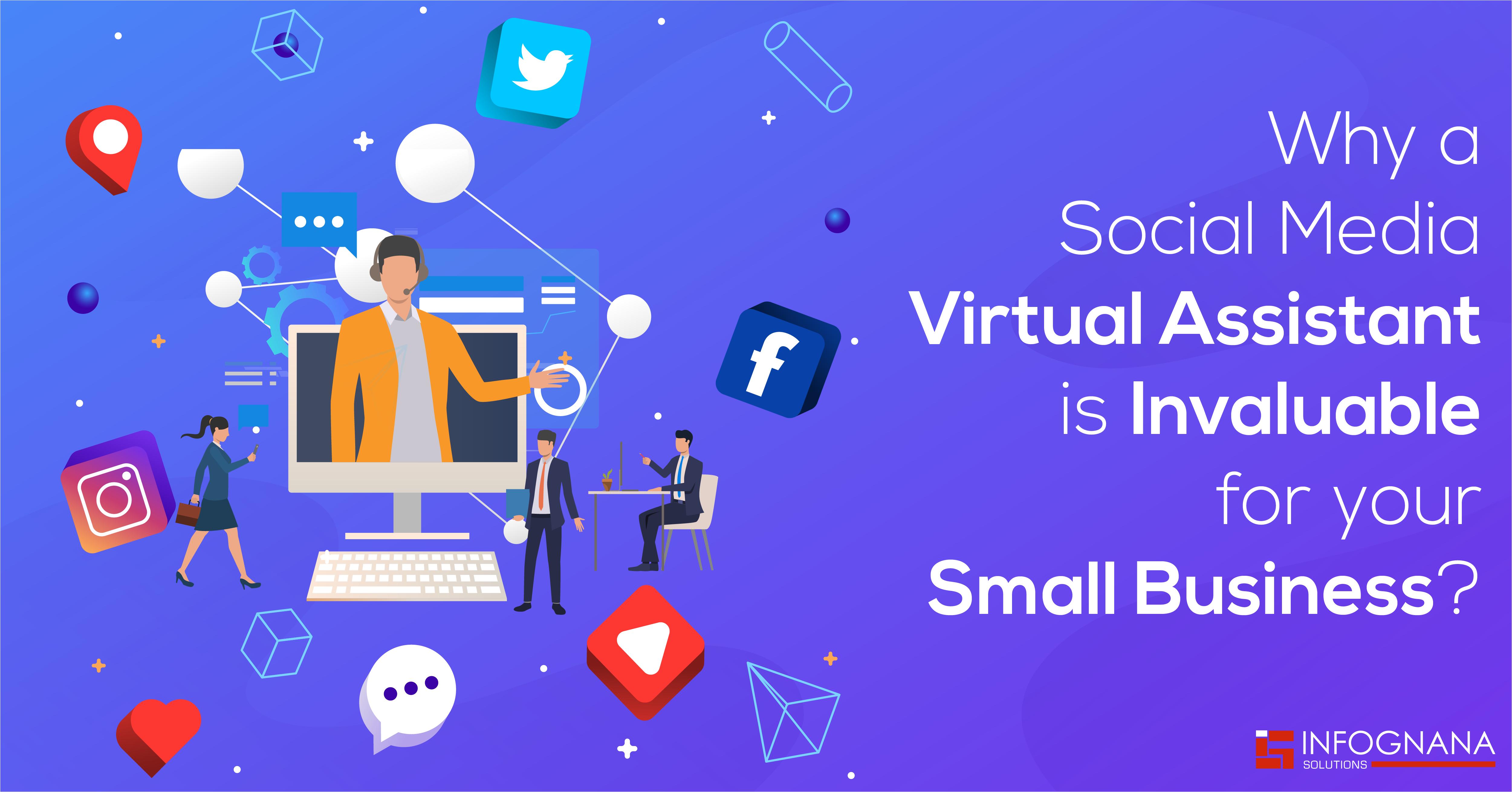 Social Media Virtual Assistant | Virtual Assistant Company