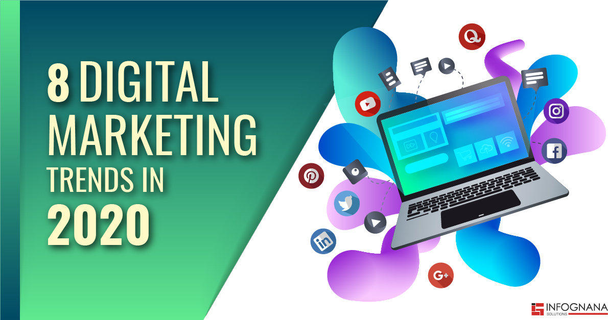 8 Digital Marketing Trends in 2020